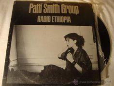 LP PATTI SMITH GROUP =RADIO ETHIOPIA= EMI ODEON 1976 SPAIN ARISTA RECORD PORTADA G DISCO VG