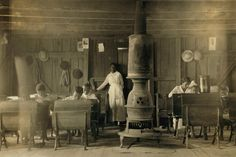 Segregated One-Room Schoolhouse 1916