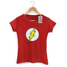 Camiseta Feminina The Flash Logo Feminina Feminina