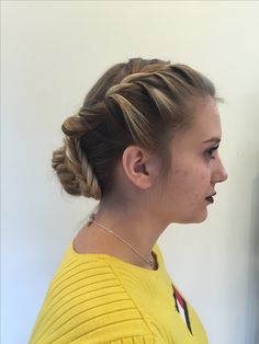 Fish Tail Updo: test out