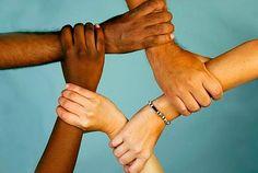 La interculturalidad es igual a no discriminar. Unity In Diversity, Knowledge, Hands, Nelson Mandela, Rally, Collage, Texts, Frases, Conflict Management