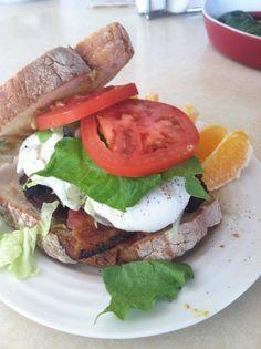 the BeLT. Bacon, egg, lettuce and tomato sandwich. omg....