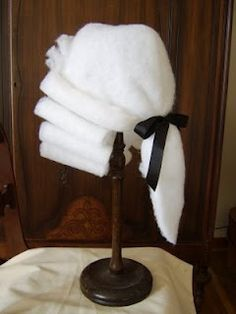 How to make a barrister wig for $5 @Jenny Herman--for your Rev. War lovers