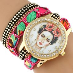 ISSA Rhinestone Frida ... kind of day, all you have to do is click the link http://boujibaehair.com/products/rhinestone-frida-rose-crown-fashion-wristwatch-bracelet?utm_campaign=social_autopilot&utm_source=pin&utm_medium=pin