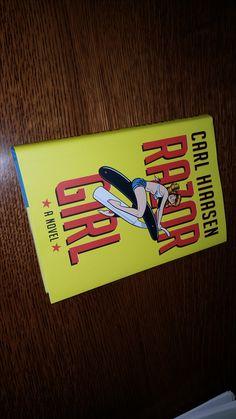 A new Carl Hiaasen book is always good news. Razor Girl is hilarious and sharp.