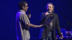 Serrat con Fernando Cabrera en Montevideo (M Pereira) 26.02.15