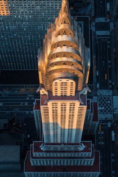 Chrysler Building in New York, NY