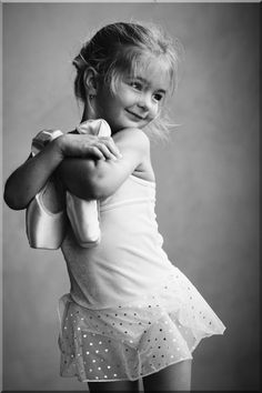 I remember my first pair of toe shoes -- so excited and couldn't wait to dance. At the ballet, everything was beautiful!