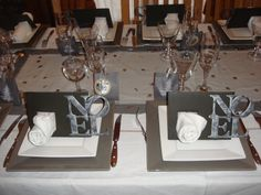 pour embellir une table de Noël  marisara-art