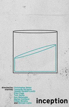 Awesome Movie posters: Inception by Mike Sapienza  minimalmovieposte...... Random stuff Check more at http://kinoman.top/pin/24438/