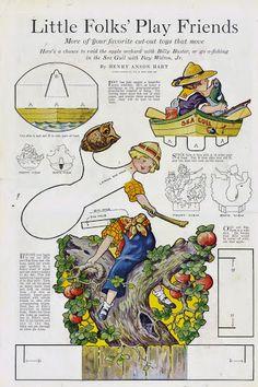 Womans companion 1918 Little Folks Circus Little Folks Play Friends - Bobe Green - Picasa Webalbums