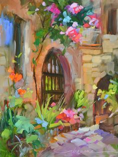 """""""Roses, Perfection in Every Moment"""" Colorful Paintings and Inspired Writings by Artist Dreama Tolle Perry"""