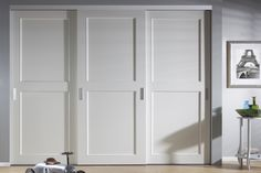 Sliding Wardrobe Doors, Pantry Layout, Build A Closet, Bedroom Inspirations, Modern Closet Doors, Cabinet Design, Home Bedroom, Condo Living, Closet Bedroom