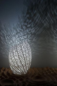 Hyphae Coral Design Lamp by Nervous System