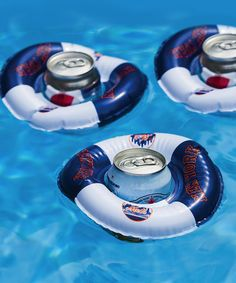 Take a look at this New York Mets Drink Float - Set of Three by Evergreen on #zulily today!