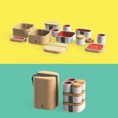 MODULE // stoneware lunchbox on Behance