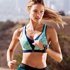 The perfect run in the sun. #IDeserveIt | Incredible by Victoria's Secret Strappy-back Sport Bra