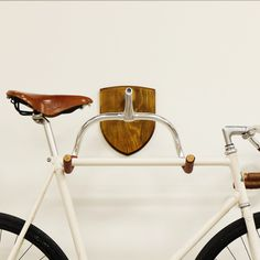 KP Cykler's beautiful hanger is bicycle storage that is meant ...
