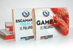 Gamba de Palamós Seafood Packaging