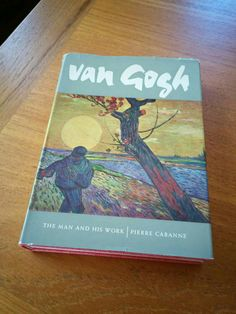 Lovely 1960s art/biography book about the incomparable Vincent Van Gogh. Lots of color and b&w picture plates--including favorites like Starry