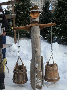 Syrop de erable, ottawa Ottawa, Bird Feeders, Wind Chimes, Outdoor Decor, Pictures, Home Decor, Homemade Home Decor, Photos, Photo Illustration