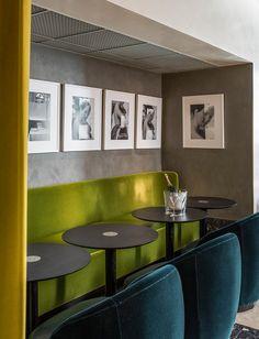 A medida - AD España, © Derek Hudson Restaurante 'I Love Paris'  Los sillones, las butacas y las mesas han sido diseñados por la propia India especialmente para el espacio. Foto Derek Hudson