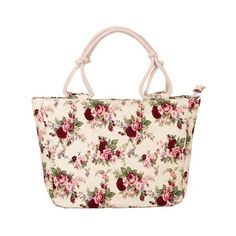 Sweet Canvas and Floral Printed Design Tote Bag For Women (83020 PYG) ❤ liked on Polyvore featuring bags, handbags, tote bags, rosegal, handbags totes, pink handbags, canvas tote bags, pink canvas tote bag and canvas handbags