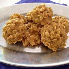 Peanut Butter No Cook Drop Cookies