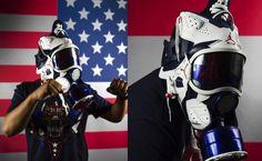 "Air Jordan 6 ""Olympic"" Gas Mask"
