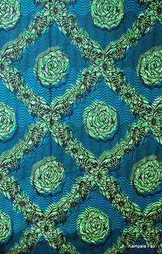 african fabric from Uganda