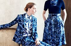 Erdem pre ss13, abstract florals