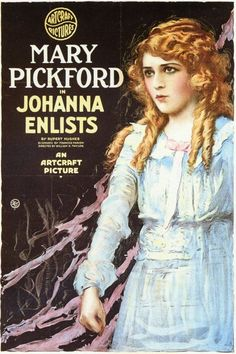 This was released in 1918 and the subject matter definitely was influenced by the war.  Pickford plays a young woman who finds herself attracted to more than one soldier when a regiment sets up camp close on her family's farm.