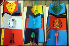 Projet Meli Melo Roscoff2 Pop Up Art, Meli Melo, Paper Design, Abstract Expressionism, Origami, Sculpture, Popup, Cards, Hotels