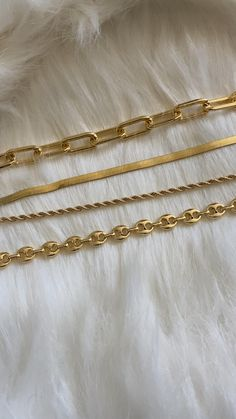 18K Gold Filled Gold Chain Necklace
