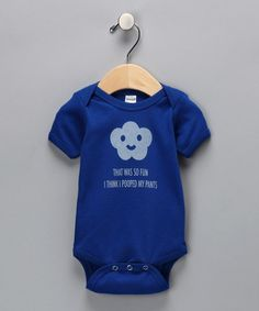 Look what I found on #zulily! Royal 'Pooped My Pants' Bodysuit - Infant by Boo Rad Lee Designs #zulilyfinds