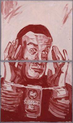 Martin Kippenberger Alchohol Torture 1981 Paint
