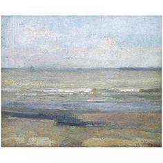 Grey Seascape - 1880, James Ensor, Royal Museum of Fine Arts Antwerp