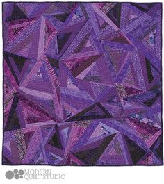 Happy Accidents - private commission quilt © Modern Quilt Studio