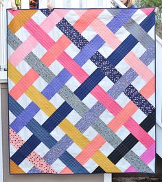 Intertwined Quilt - RJR Cotton Supreme Solids
