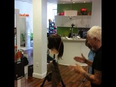 Hands on cutting class with Phillip Wilson at W Salon/Reflections of You...