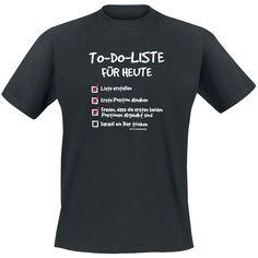 T-Shirt (T-Shirt) von To-Do-Liste