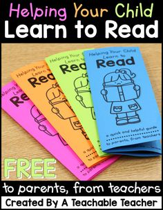 FREE Reading Tips Brochure to Parents from Teachers by A Teachable Teacher Reading Tips, Reading Strategies, Kids Reading, Guided Reading, Reading Comprehension, Reading Skills, Kindergarten Reading, Teaching Reading, Reading Activities