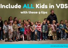 Include ALL Kids in VBS with these 9 tips via @CLCNetwork