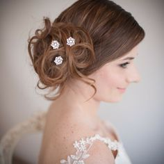 Chez Bec Divinity Hair Pins £40