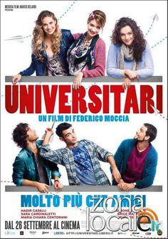 """Locandina Universitari  Kaos e Twenty Easy Kaos al cinema con """"Universitari molto più che amici"""" di Federico Moccia"""