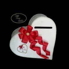 Ca_172 Heart Box ,Buzón  para Sobres Personalizado  #15años #Bodas