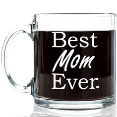 "Perfect gift for the Best Mom Ever! - Great Gift - Each mug comes shipped in a sturdy white gift box, immediately ready for gift giving! Any Mom who drinks coffee (or tea!) is sure to love the ""Best M"