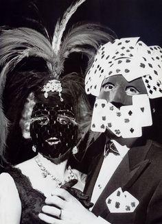 Bal des masques,1950s byAndré Ostier
