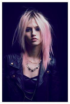 Model: Charlotte Free - Photographer: Nacho Ricci - 2012