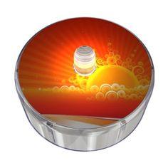 Orange Party Dot Design 020